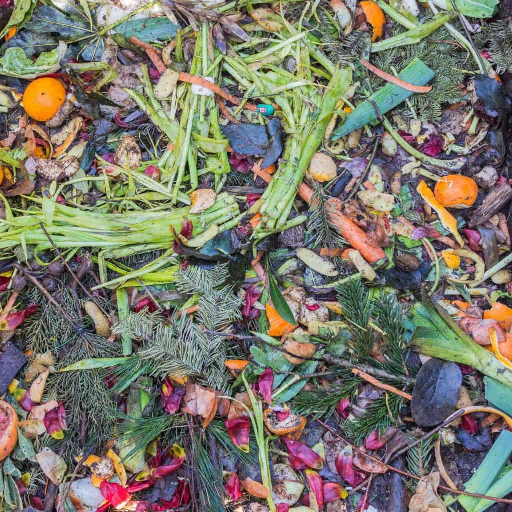 ways to compost food waste