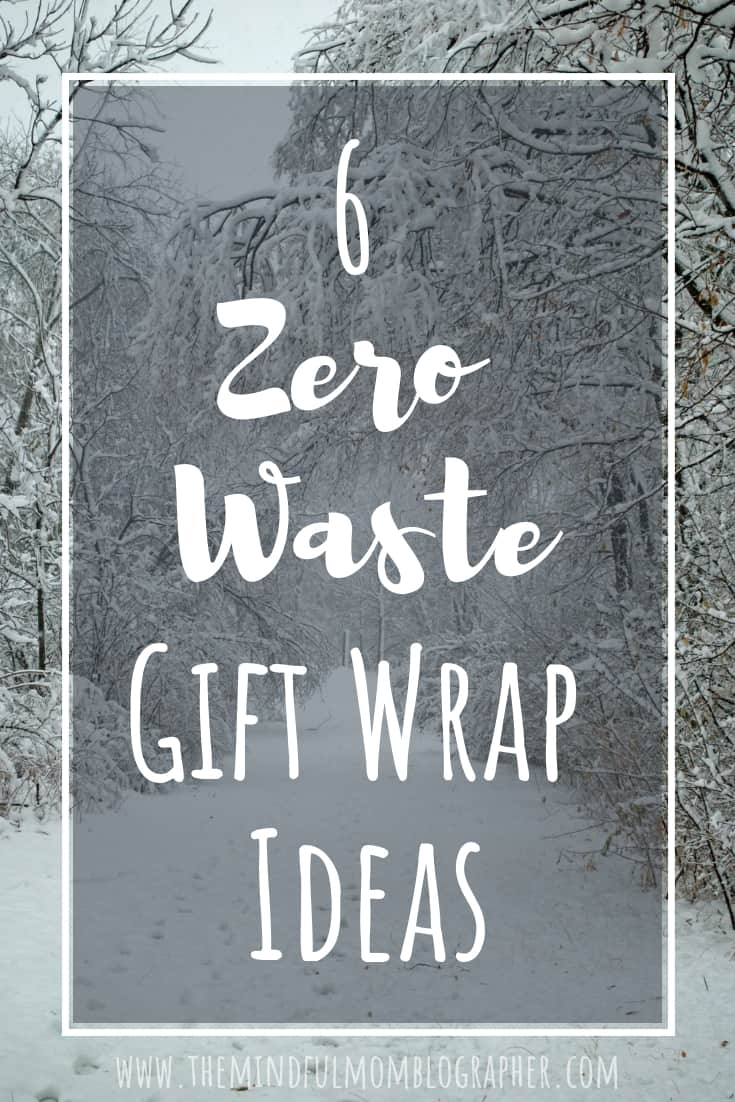 Zero Waste Gift Wrap Ideas