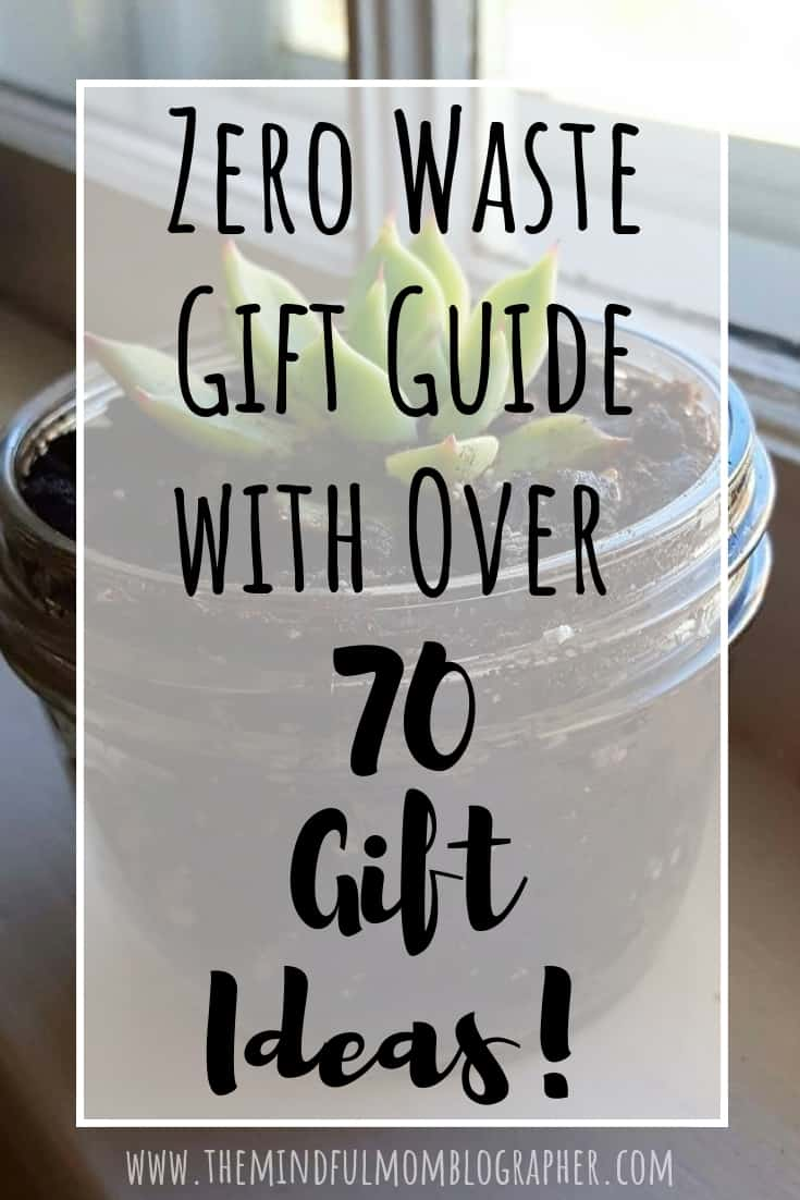 Zero Waste Gift Guide with over 70 Gift Ideas!