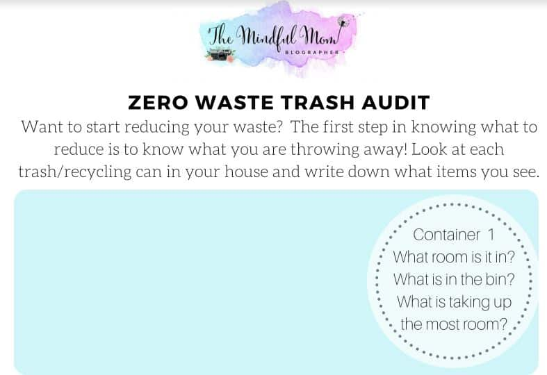 how to do a waste audit