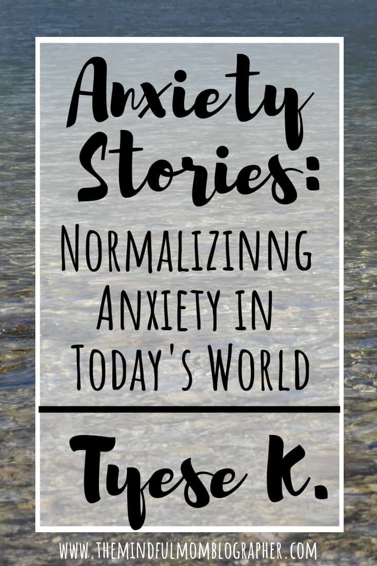 Do you suffer from anxiety? You're not alone. Anxiety Stories is a series that aims to normalize anxiety in today's world. This story is from Tyese of Strong Mom Sad Mom. #anxiety #anxietystories #mentalhealth