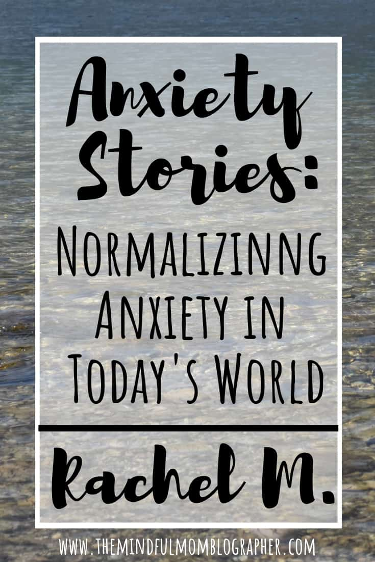 Sharing our experiences with anxiety and other mental illnesses is a great way to break down the mental health stigma. That is what my goal is with my series 'Anxiety Stories | Normalizing Anxiety in Today's World'. Check out this anxiety story from Rachel M. #anxiety #anxietytips #mentalhealth #mentalhealthstigma